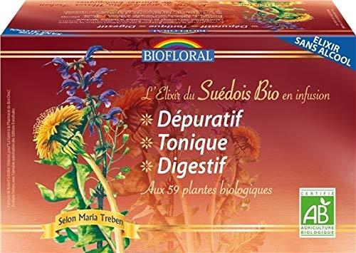 Biofloral Elixir du Suédois en Infusions Bio 20 Sachets