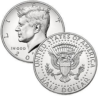 2019 P, D Kennedy Half Dollar 2 Coin Set Uncirculated