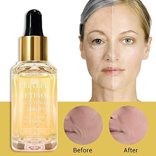 51nYuHWB1NL - Retinol Serum, BREYLEE Anti Aging Anti Wrinkle Face Serum Vitamin A Retinol with Natural Ingredients for Skin Care Eye Care Fade Lines Acne Scars Dark Spots (17ml, 0.6 Fl Oz)