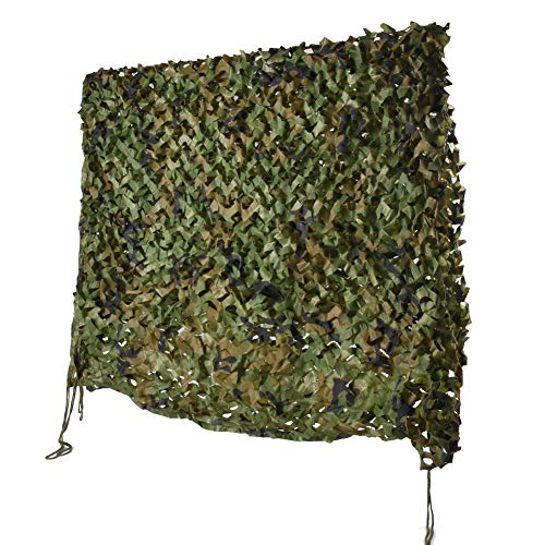 HYOUT Camouflage Netting, 6.5x10ft Woodland Camo Net Blinds Great For Sunshade Camping Shooting Hunting etc,Woodland Camo