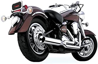 Cobra PowerPro HP 2-into-1 Exhaust System with Billet Tip for Yamaha Cruisers - Yamaha XV1700A Road Star 2004-2007