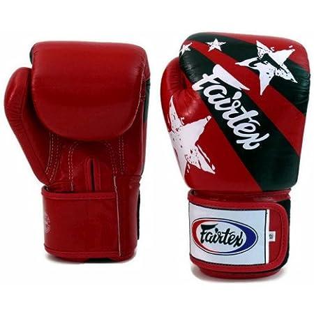 Fairtex Gants de boxe 3 tons avec drapeau tha/ï BGV1 Muay Thai Sparring Kickboxing