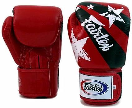 FAIRTEX BGV14 RED /& HAND WRAPS COMBO SET MUAY THAI BOXING MMA GLOVES TO CLEAR!!!