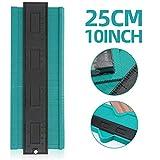 Konturenlehre Konturmesser 10''/25cm, Kopierer mit Skala, Vervielfältigungslehre Duplikator unregelmäßiges Profilmessgerät für präzise Messung