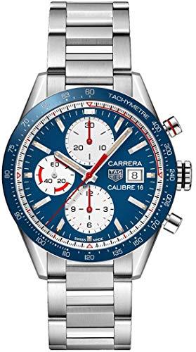 TAG Heuer orologio Carrera Calibre 16 cronografo automatico 41mm CV201AR.BA0715