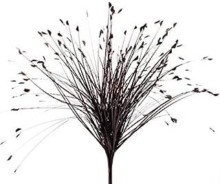 Event Decor Direct Onion Grass Spray 27.5 inch - 12 Pieces - Black