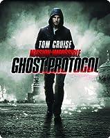 ミッション:インポッシブル/ゴースト・プロトコル ブルーレイ+DVDセット スチールブック仕様 (初回生産・取扱店限定) [Blu-ray]