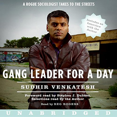 Gang Leader for a Day audiobook cover art