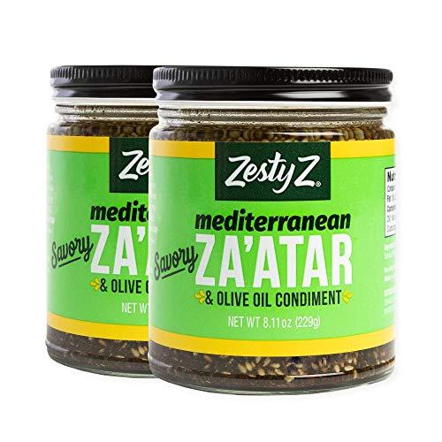 Zaatar w/ Extra Virgin Olive Oil Spread