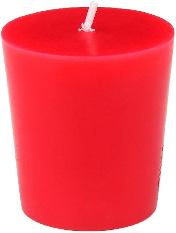 Zest Candle CVZ-010_8 96-Piece Votive Candle, Red