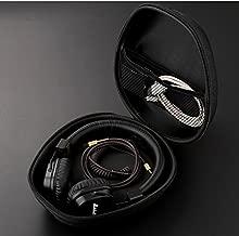Hard Cover Headphone Case for Beats Studio/Pro/Solo2/Solo3 and Sennheiser, Over Ear Headphone Storage Cases for Carrying Beats and Sennheiser Wireless Headphones-Black