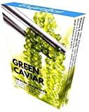 Organic Sea Grapes - Japanese Umibudo Green Caviar - Delicacy Seaweed - Dehydrated, Marinated Lato Seaweed in Saltwater - Net weight: 3.5oz/100g (makes 1 pound once soaked)