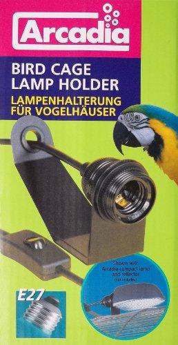 Arcadia - Vogelkäfig-Lampenfassung (mit Schrauben)