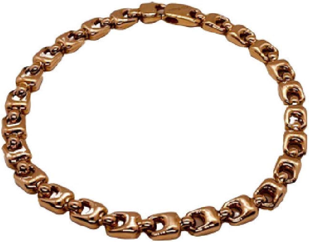 Chimento,bracciale unisex in oro rosa 18 kt/750(7,6 gr) 1B05399ZZ6190