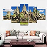 YANCONG Leinwandbilder Angkor Wat Tempel Architektur