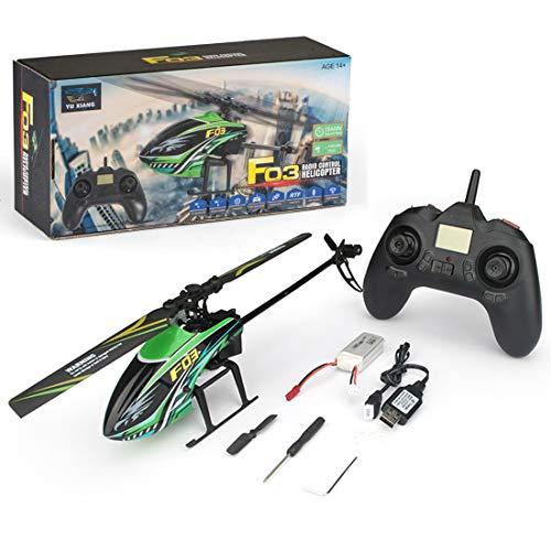 DAN DISCOUNTS Fernbedienung Flugzeug, RC Hubschrauber Ferngesteuert Helikopter Spielzeug, 2.4GHz 4CH Ferngesteuert Flugzeug mit Eingebauter Gyro RC RTF Flugzeugmodell für Kinder und Erwachsene
