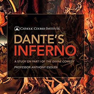 Dante's Inferno audiobook cover art