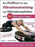 Der Profikurs für das Vibrationstraining auf Vibrationsplatten mit 250 Übungsvorlagen: Optimale...