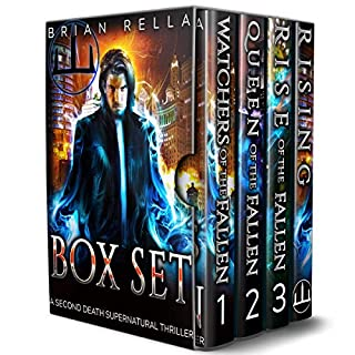 The Second Death Supernatural Thriller Series: Books 1-3 and Prequel Novella audiobook cover art