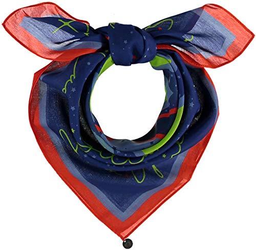 FRAAS Horoskop Zodiac Halstuch für Damen & Herren - Bandana Tuch mit Sternzeichen Design - Nickituch aus 75% Wolle & 25% Seide - 65 x 65 cm, Schütze Lavendel