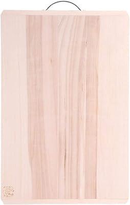WangYi まな板- 家庭用木製大まな板厚さ2.5 cm (色 : 木の色, サイズ さいず : 87x53x2.5cm)