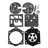 XIAN Kit di Ricostruzione Carburatore Kit di Riparazione Carboidrati Guarnizione Diaframma Walbro Fit per Stihl 015