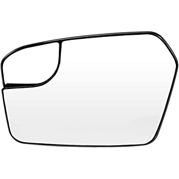 Amazon Com Anglewide Driver Side Mirror Glass Blind Spot Non Heated Fit For 2011 2012 Ford Fusion Lincoln Mkz 2011 Mercury Milan Automotive