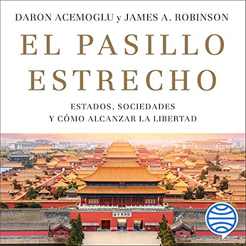 Diseño de la portada del título El pasillo estrecho