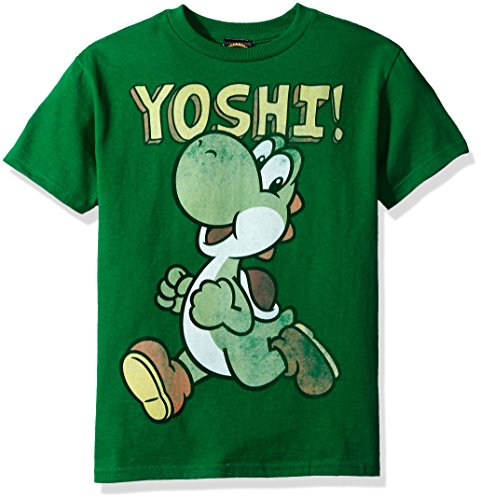 Nintendo Little Boys Its Yoshi Graphic T-shirt, Kelly, YM
