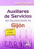 Temas 1 al 10 (Auxiliares de Servicios, Ayuntamiento de Gijón. Temario)