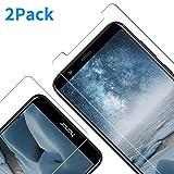 Vkaiy Verre trempé pour Huawei Honor 7X, Film Protection écran Honor 7X, Vitre Protecteur d'écran Huawei Honor 7X, 9H Dureté, sans Bulles, Anti-Rayures[2Pièces]