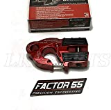 Factor 55 ULTRAHOOK Winch Hook with Shackle Mount - RED