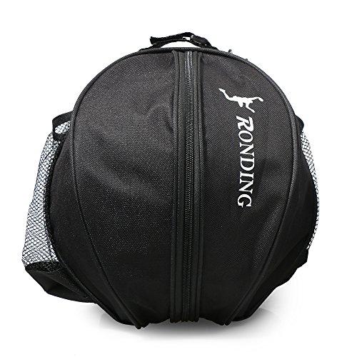 Lixada Basketball Tasche, praktisch, tragbar, große Tasche,Runde Umhängetasche Tasche, Runde Tasche für Ball Sport, Fußball Ball Volleyball Tragetasche Reisetasche für Männer und Frauen