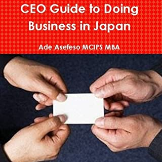 CEO Guide to Doing Business in Japan audiobook cover art