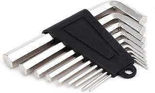 X-Dr 1.5mm-10mm L Shape Dual Hexagon Head Hex Key Wrench Set Repair Tool 9 in 1 (759c7777-a222-11e9-8d7c-4cedfbbbda4e)