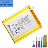 New Li-Polymer Replacement Battery Li3940T44P8h937238 Compatible with ZTE Z982 Blade Z Max 3990mah with Tools