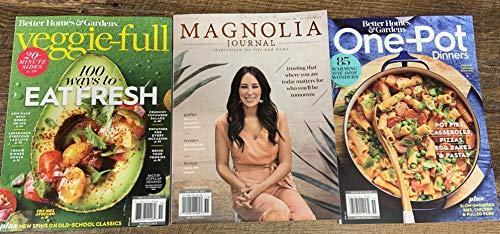 BHG Veggie Full   One Pot Dinners & Magnolia Journal #14 Magazine 2020