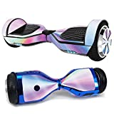 MightySkins Glossy Glitter Skin for Ultra Hoverboard - Rainbow Zoom | Protective, Durable High-Gloss Glitter Finish | Easy to Apply,...