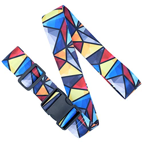 Adjustable Luggage Straps/Belt for suitcases - Travel Accessories - Luggage Accessories - Mosaic