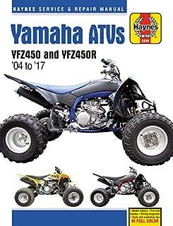 Yamaha YFZ450/450R ATV, 2004-2017 Haynes Repair Manual (Haynes Powersport)