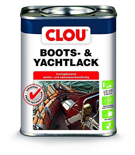 (19,52 € / Liter) Boots- und Yachtlack Farblos 2,5 Liter