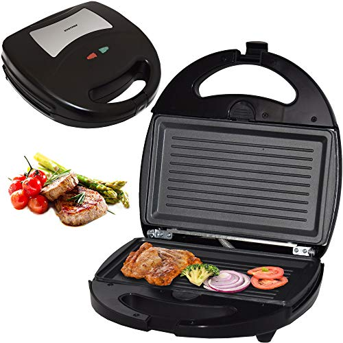 Syntrox Germany SM-1300W Barbecue avec plaques de cuisson amovibles