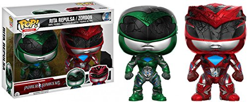 Funko Power Rangers-Rita Repulsa/Zordon - Juego de 2 figuritas, Multicolor, 13304
