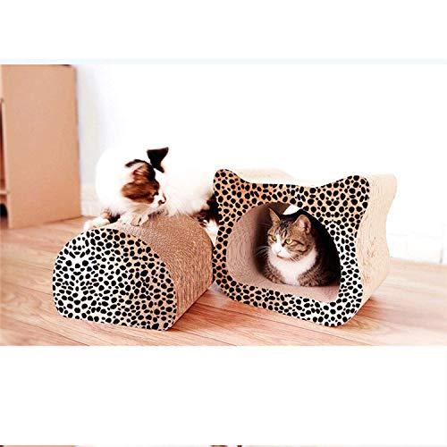 DGHJK Artículos para Mascotas, arañazos para Gatos, Papel Corrugado, Garra, Garra, Juguetes, Muebles para Gatos, Suministros para Mascotas...
