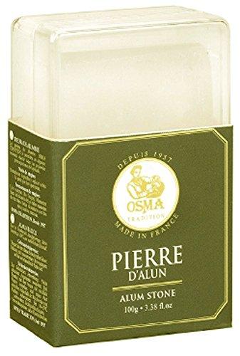 Osma Tradition Bloc - Handmade Alum Block (Soothes Shaving Irritation) With...