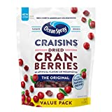 Gluten Free Dried Cranberries: Enjoy the delicious taste of these dried cranberries! A wholesome, naturally gluten free snack that's an excellent source of fiber and made with real dried fruit Bursting with Flavor: Our great tasting original Craisins...