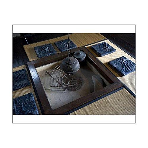 robertharding 10x8 Print of Sunken irori fire pit inside the Kyu Uchiyamake historic Samurai house in (3628741)