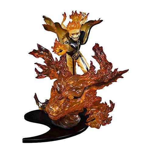 Siyushop Naruto Statue Relation Uzumaki-Kurama-Kizuna - Modèle Naruto À Neuf Queues - Hauteur 20CM