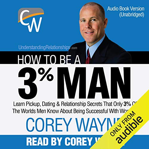 How to Be a 3% Man audiobook cover art
