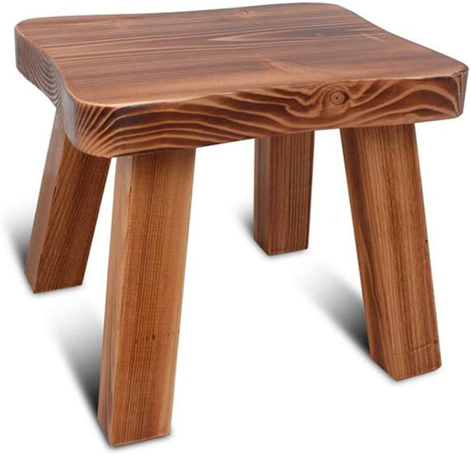 CJC Wooden Stool Household Indoor Low Stool Living Room Bathroom Home Office Furniture Kitchen (color   2)